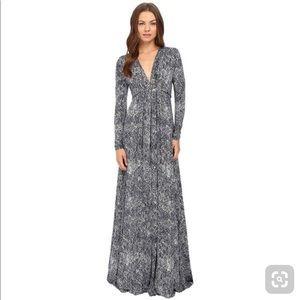 Rachel Pally Long Sleeve Full Length Kaftan Dress